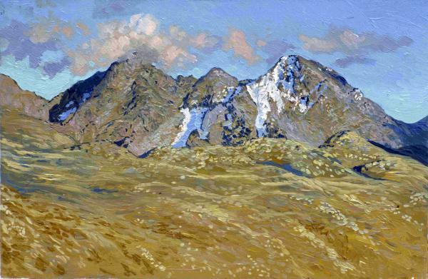 Simon Kozhin. Alps.Simon Leonidovitch Kozhin, #artpeople www.artpeoplegallery.com