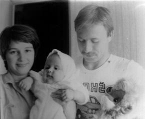 Simon Kozhin. Kozhin Simon Leonidovich in 1980 with Leonid Arkadievich Kozhin (Father) and Kozhina Irina Mikhailovna (Mommy).