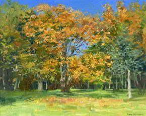 Семён Кожин. Осенние листья.