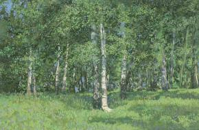 Simon Kozhin. Birch Grove.