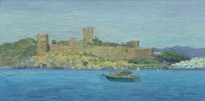 Simon Kozhin. The castle in Bodrum. Castle of St. Peter.