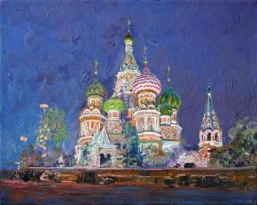 Simon Kozhin. Cathedral of Saint Basil the Blessed.