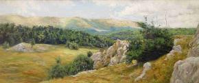 Семён Кожин. Крымские горы.