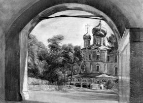 Семён Кожин. Донской монастырь.