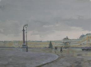 Simon Kozhin. Palace Square.