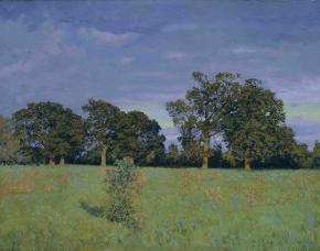 Simon Kozhin. Oaks-Trees in Haddenham.
