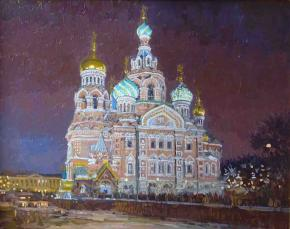 Simon Kozhin. Church of the Savior on Spilled Blood.