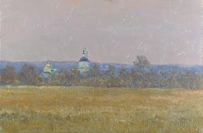 Simon Kozhin. View of the monastery in the village Klykovo.