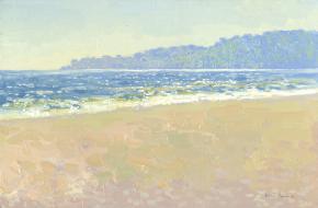 Семён Кожин. Одесский пляж.