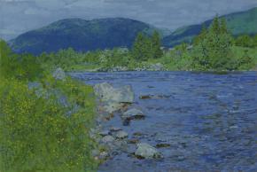 Simon Kozhin. Kolvica river.