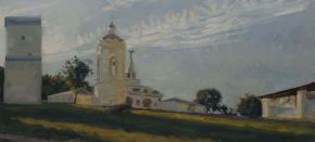 Семён Кожин. Коломенское. Церковь Георгия Победоносца.