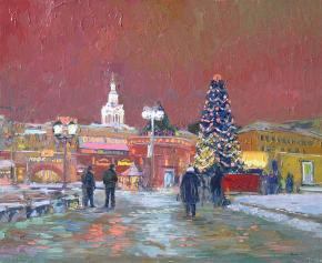 Simon Kozhin. New Year in Moscow