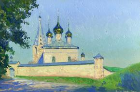 Simon Kozhin. The Nikolsky Monastery