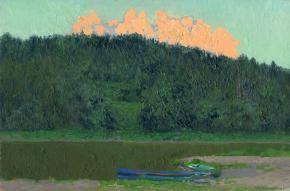 Simon Kozhin. The cloud above the river. Ust Koiva. Urals.