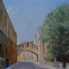 Семён Кожин. Улица в Оксфорде.