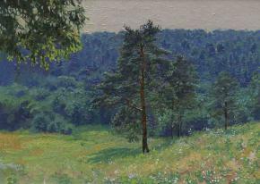 Simon Kozhin. Pine-grove.
