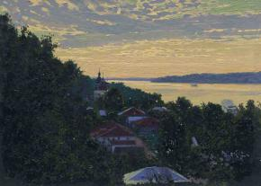 Simon Kozhin. Plyos. Sunset.
