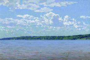 Simon Kozhin. Ploys. Volga river.