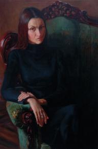 Simon Kozhin. Portrait of Oksana Schwarz.