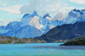 Simon Kozhin. Mountains. Patagonia. Chile. Torres del Paine.