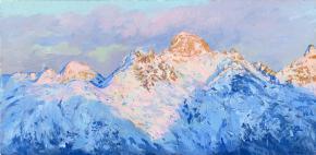 Семён Кожин. Последний луч. Швейцарские горы.