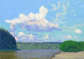 Simon Kozhin. The Chusovaya River. Ust Koiva.