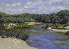 Simon Kozhin. Usola river. Gorodets.