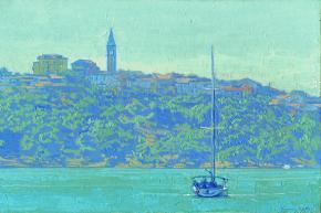 Simon Kozhin. Rovinj. Yacht. Croatia.