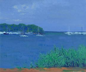 Simon Kozhin. Silver water. Green Lagoon. Croatia.
