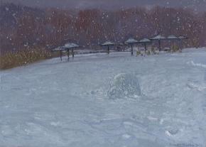 Семён Кожин. Снег идёт. Кузьминки.