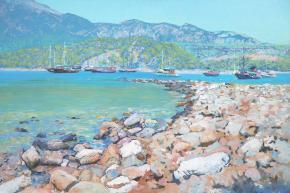 Simon Kozhin. Sunny's Harbor.