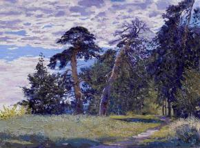 Simon Kozhin. Pine-trees on the Gorodetskiy val.