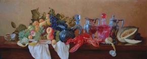 Simon Kozhin. Still Life with Lobster.