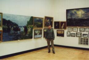 Simon Kozhin. Exhibition in the Central House of Artist