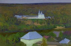 Simon Kozhin. View of the Znamensky Monastery