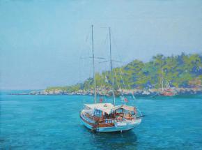 Simon Kozhin. Yacht. Phaselis.