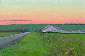 Семён Кожин. Закат на ферме.